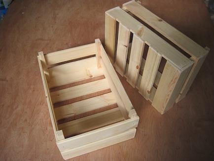 Comprar cajas de madera reciclable para organizar su hogar