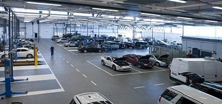 taller para Mercedes Benz